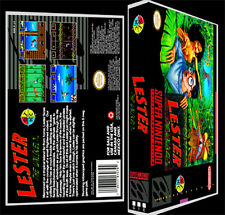 Lester The Unlikely  - SNES Reproduction Art Case/Box No Game.