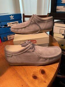 DEADSTOCK Clarks Originals Wallabee Run Grey US Men's Size 10 26068296
