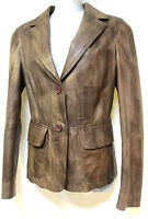 regular sz XS / 8 Buttersoft Leather European Tailored Jacket chic NWOT! rrp$489