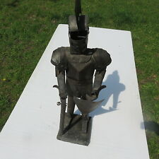 SALE....Vintage Antique Folk Art   One Of Kind   Knight in Armour