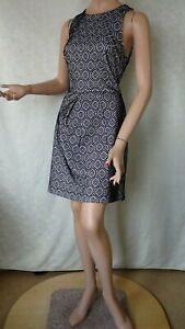 SIZE-12, CUE in The City Black White Dress.