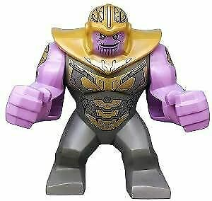 LEGO Super Heroes Thanos SuperSized Minifigure from 76131 (Bagged)