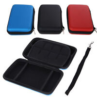 EVA Skin Carry Bag Hard Case Pouch Cover for Nintendo 3DS XL LL Console w/ Strap