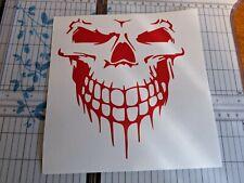 "Evil Skull Sticker Scary Skeleton Decal Car Truck Window Vinyl JDM Turbo 3"""