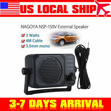 External CB Radio Speaker for Mobile 2-way Radio Amplifier Kenwood Motorola ICOM