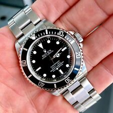"2006 ""Z"" Rolex Submariner No Date 14060M Steel Mans Watch - No box or Papers"
