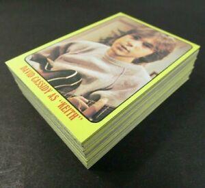 1971 Topps The Partridge Family Lot of 55 Cards Full Set Pack Fresh NM-MINT