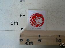 STICKER,DECAL FC TWENTE 65 WRIGLEY'S VOETBAL SOCCER