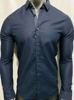 New Armani Exchange Mens NON IRON SLIM DRESS SHIRT