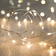 20 pack - Battery Operated Mini LED fairy lights Wire String Fairy Lights