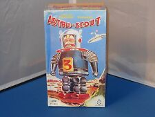Tin Tom Toys Wind Up Astro Scout Space Tin Toy Toys Mint In Box!