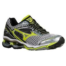 Mizuno Wave Creation 17 Men Silver Lime Running Shoes Size 8.5 New!