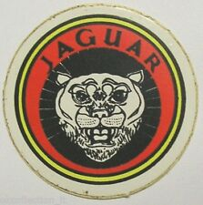 VECCHIO ADESIVO ORIGINALE / Old Original Sticker AUTO JAGUAR (cm 4,5)