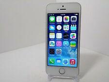 Apple iPhone 5s - 16GB - Silver (Verizon/Unlocked) Smartphone Clean ESN