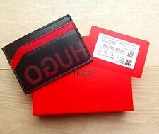 HUGO BOSS Card Holder Record SL_S Wallet With Reversed Logo Gift Box 50434841