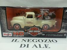 "MAISTO""HD CUSTOM""1:25 1950 CHEVROLET 3100 PICK-UP+1:24 2001 FLSTS HERITAGE SPRI"