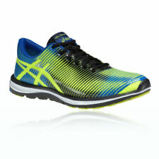 Chaussures de fitness, athlétisme et yoga verts ASICS pour homme