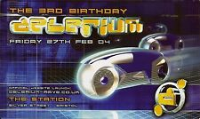 (RAVE FLYER 2004) DELERIUM @ BRISTOL.THE STATION. GAMMER.SCORPIO.VIBES