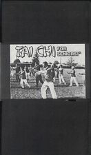 Tai Chi for Seniors with Instructor Mark Johnson VHS 1991