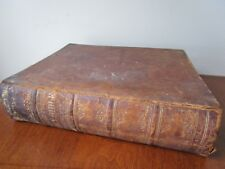 Large Vintage Antique 1852 Family Holy Bible New & Old Testament, Buffalo, NY