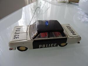 Ehri DDR Blech Polizeiauto 1966, gute Erhaltung