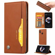 Magnetic Retro Flip PU Leather Wallet Case For Xiaomi Redmi S2 Card Cover Stand