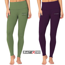 Ladies Womens Compression Tights Yoga Running Gym Winter Trousers Casual Wear
