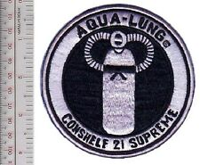 SCUBA Diving USA US Divers Aqua-Lung Conshelf 21 Supreme Regulator Patch
