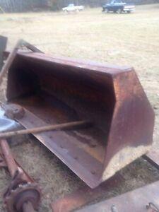 "93"" HD CASE 580L backhoe loader bucket $1500 free local pickup"