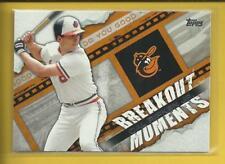 Cal Ripken Jr 2014 Topps Breakout Moments Insert Card # BM-11 Orioles Baseball