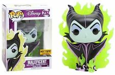 Funko Disney Villains Pop! Maleficent #232 Vinyl Hot Topic Exclusive w protector