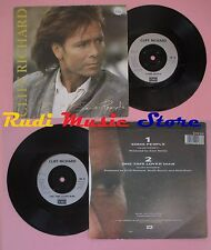 LP 45 7'' CLIFF RICHARD Some people One time lover man 1987 uk (*) no cd mc dvd