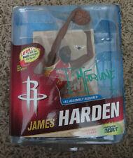 SIGNED JAMES HARDEN MCFARLANE NBA SERIES 23  ACTION FIGURE