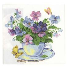 Alisa Cross Stitch Kit-Mañana de Flores