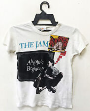 VINTAGE 1981 FIFTH COLUMN THE JAM PUNK ROCK TOUR CONCERT PROMO T-SHIRT WELLER