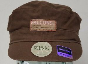 Atlanta Falcons NFL Brown Reebok Adjustable Slouch Hat Military Cap NWT