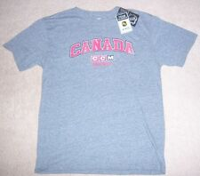 NEW CCM Vintage-Style TEAM CANADA Hockey SOFT THROWBACK Training SHIRT M jersey