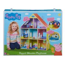 Peppa Pig Wooden Playhouse , Multicoloured