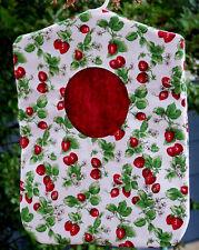 Clothes Pin Bag Holder Strawberries Hole Fruit Handmade Laundry Peg Bag