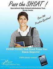 NEW Pass the SHSAT!  Specialized High School Admissions Test Study Guide