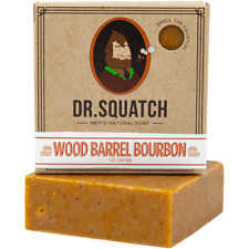 Dr. Squatch  Wood Barrel Bourbon Turn your shower into cocktail hour Made in USA