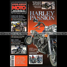 MOTO JOURNAL HS 2008 HORS-SERIE ★ HARLEY-PASSION N°10 2000 ★ FAT BOY ERIK BUELL
