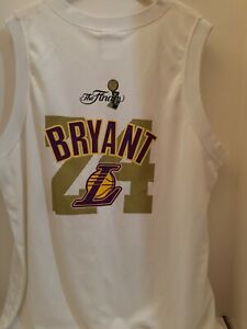 Kobe Bryant LA LAKERS AUTHENTIC MAJESTIC 2009 NBA FINALS Jersey ADULT XL RARE