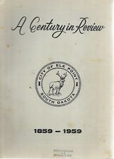 Vintage 1959 Century In Review Elk Point South Dakota Booklet