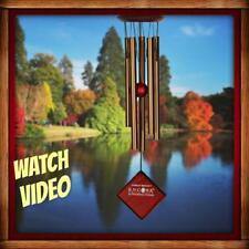 "Woodstock Chimes Of Mercury Bronze Wind Chimes 14"" New In Box"
