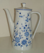 Kaffeekännchen Kaffeekanne Seltmann Weiden K. Bavaria Doris Bayerisch-Blau groß