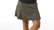 NWT Smashing Golf & Tennis Maddie Shapewear Slim Skort Navy Daisy S 4 6 Compress