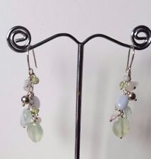 925 sterling silver Semi gemstone earrings