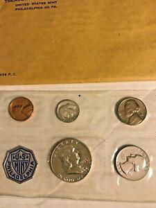 1956 Philadelphia Proof Set Treasury Department U S Mint