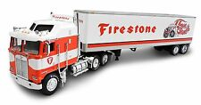 New 1:64 DCP Kenworth K100 Firestone Truck